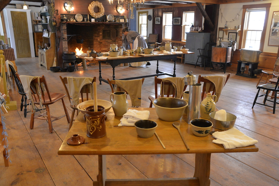 Remick Country Doctor Museum Farm Tamworth NH Hearthside Dinners - Farmers table nh
